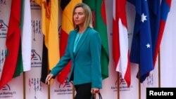 Ýewropa Bileleşiginiň daşary gatnaşyklar boýunça ýolbaşçysy Federika Mogherini