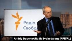 Головний редактор RFE/RL Ненад Пеїч у Київському бюро Радіо Свобода