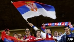 Tifozë serbë