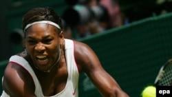 Serena Williams në aksion
