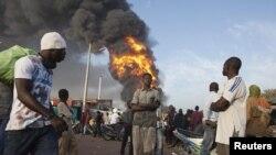Бамако, Мали, Јануари 2013-та