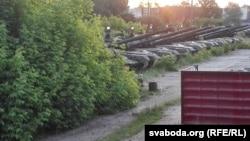 Российские танки на полигоне в Клинцах, Брянская область, 5 июня 2016 года