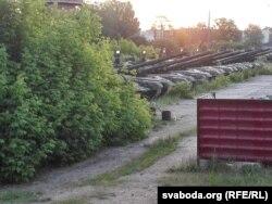 Расейскія танкі ў Клінцах, што за 40 км ад беларускай мяжы