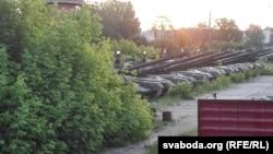 Російські танки у місті Клинці Брянської області, що біля кордону з Білоруссю. 5 червня 2016 року