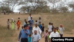 Дүйшөн Шаматов Йеменде чыгармачылык сапарда. 17-февраль, 2011.