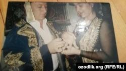 Фото со свадьбы Аббоса Мирзияева и Наргизы Джумаевой.