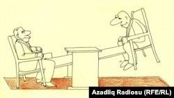 Rəşid Şerifin karikaturası