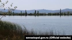 Водохранилище Уркуста, село Передовое, Крым