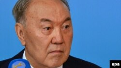 Президент Казахстана Нурсултан Назарбаев. Астана, 20 марта 2016 года.