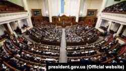 Під час засідання Верховної Ради очікується виступ президента України Петра Порошенка