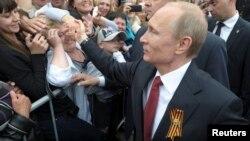 Володимир Путін, Севастополь, 9 травня 2014 року