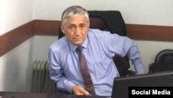 Сагынбек Абдрахманов. Фото из профиля в Facebook.