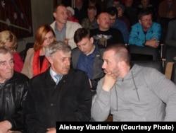 Игорь Федотов (справа)