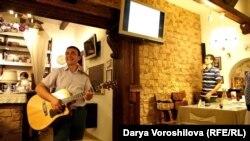 Алексей Колясников в кафе Bel Canto