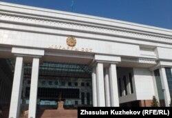 Қазақстанның жоғарғы сотының ғимараты. Астана, 17 қазан 2011 жыл.
