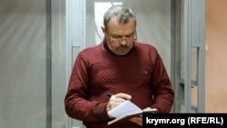 Василий Ганыш в здании суда, 19 ноября 2018 года