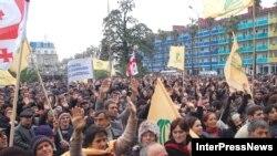 Gürcüstanda müxalifətin mitinqi, 9 aprel 2009