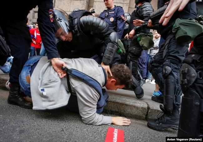Задержания в Санкт-Петербурге, 9 сентября 2018 года