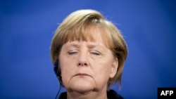 Ангела Меркель, канцлер Германии. Берлин, 23 января 2013 года.