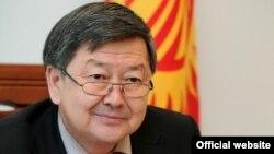 Қырғызстанның премьер-министрі Жантөрө Сатыбалдиев.
