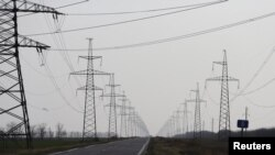 Districts controlled by pro-Russia separatists in the Donetsk region have stopped receiving energy produced by power stations located in Kyiv. (file photo)
