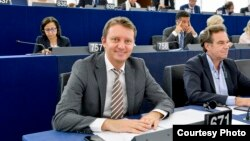 Siegfried Mureșan, în Parlamentul European de la Strasbourg