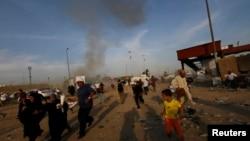Взрыв в шиитском квартале Багдада.