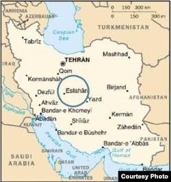 Иранның картасы