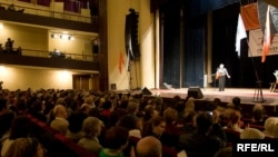 Один из концертов в поддержку политзаключенных, прошедших в 2009 году.