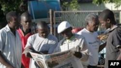 Дар матбуоти Зимбабве ҳанӯз натоиҷи интихобот нашр нашудааст