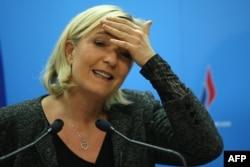 Лидер Национального фронта Марин Ле Пен