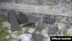 У Польщі зруйнували пам'ятник на українському цвинтарі