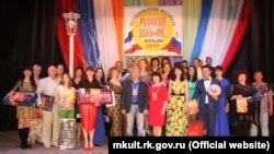 Участники фестиваля популярной песни «Русский шансон в Крыму-2016»