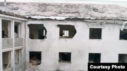 Azadlıq Radiosunun binasında 1981-ci il partlayışından sonra