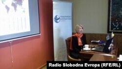 Слаѓана Тасева,претседател на Транспаренси интернешнл Македонија.