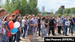 Митинг в Йошкар-Оле