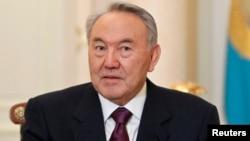 Қазақстан президенті Нұрсұлтан Назарбаев. Алматы, 25 ақпан 2013 жыл.