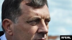 Milorad Dodik, the prime minister of the Bosnian entity Republika Srpska, is seen as seeking to separate the entity from Bosnia.