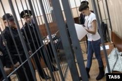 Надія Савченко в суді 6 травня