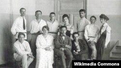 «Утвердители нового искусства» (УНОВІС). Віцебск, ліпень 1922 году