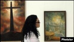 Արցախցի նկարիչների ցուցահանդեսը Երեւանում