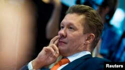Аляксей Мілер, кіраўнік Газпрому