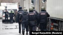 Российские полицейские (архивное фото)