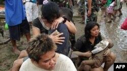 После урагана в городе Илиган на юге Филиппин
