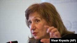 Претседателката на косовските специјализирани комори, Екатерина Трендафилова