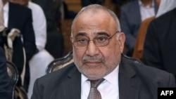 Iraqi Prime Minister Adel Abdul Mahdi (file photo)