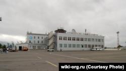 Аэропорт Южно-Сахалинска, реконструированный в 2016 году, архивное фото