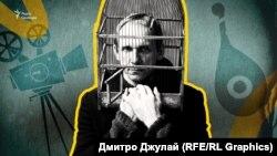 Колаж у якому використано фото із кінопроєкту «Три місяці до Зими» режисера Станіслава Гуренка.