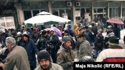 Protest tuzlanskih radnika