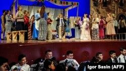 Постановка оперы «Паяцы» на сцене государственного театра в Ашгабате. Ноябрь 2019 года.